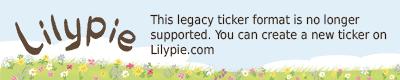 Lilypie 5th Birthday Ticker